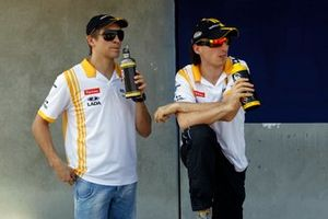Robert Kubica, Renault and Vitaly Petrov, Renault F1 Team
