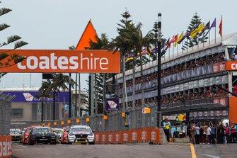 Start der Supercars 2019 in Newcastle