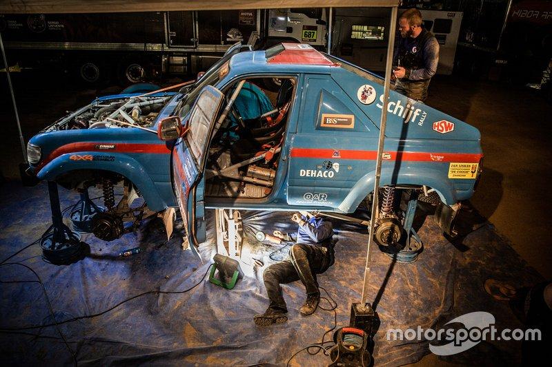 #369 Schijf Rally Toyota: Teun Stam, René Bargeman