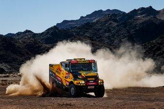 #504 Big Shock Racing IVECO: Martin Macik, Frantisek Tomasek, David Svanda