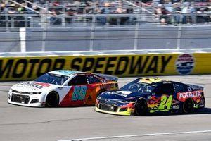 Alex Bowman, Hendrick Motorsports, Chevrolet Camaro LLUMAR, William Byron, Hendrick Motorsports, Chevrolet Camaro Axalta
