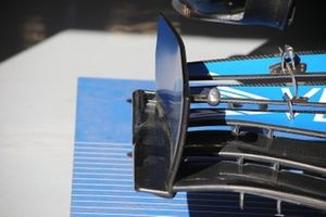 Endplates del alerón delantero del McLaren MCL35
