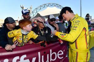 Joey Logano, Team Penske, Ford Mustang Pennzoil wins