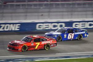 Justin Allgaier, JR Motorsports, Chevrolet Camaro BRANDT, Timmy Hill, Hattori Racing Enterprises, Toyota Camry