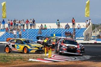 Никлас Гронхольм, GRX Taneco Team, Hyundai i20, и Антон Марклунд, GC Kompetition, Renault Mégane R.S. RX