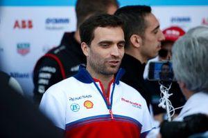 Jérôme d'Ambrosio, Mahindra Racing talks to the press