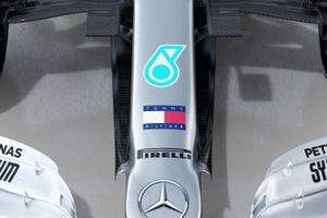 Mercedes AMG F1 W11 detail