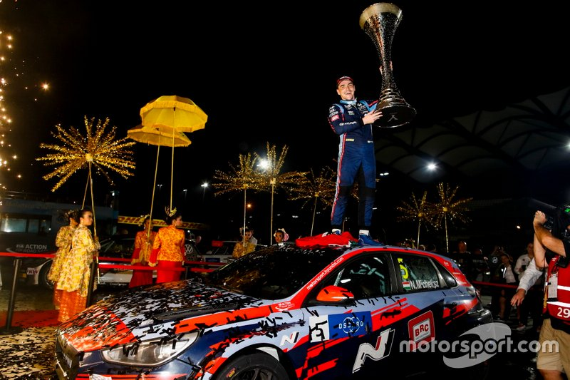 Il Campione Norbert Michelisz, BRC Hyundai N Squadra Corse Hyundai i30 N TCR
