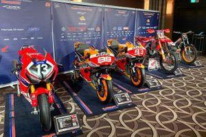 Las motos de Honda