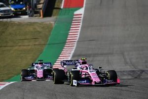Lance Stroll, Racing Point RP19 e Sergio Perez, Racing Point RP19