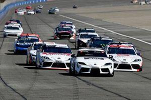 Harrison Burton, Joe Gibbs Racing, Toyota Supra Dex Imaging, Brandon Jones, Joe Gibbs Racing, Toyota Supra Toyota Service Centers