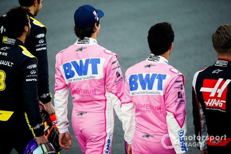 Lando Norris, McLaren, Sergio Perez, Racing Point