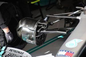 Dettaglio freno anteriore, Mercedes F1 W11