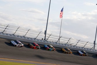 Denny Hamlin, Joe Gibbs Racing, Toyota Camry FedEx Express, Martin Truex Jr., Joe Gibbs Racing, Toyota Camry Bass Pro Shops, Kyle Busch, Joe Gibbs Racing, Toyota Camry M&M's, Erik Jones, Joe Gibbs Racing, Toyota Camry DeWalt, Christopher Bell, Leavine Family Racing, Toyota Camry Procore