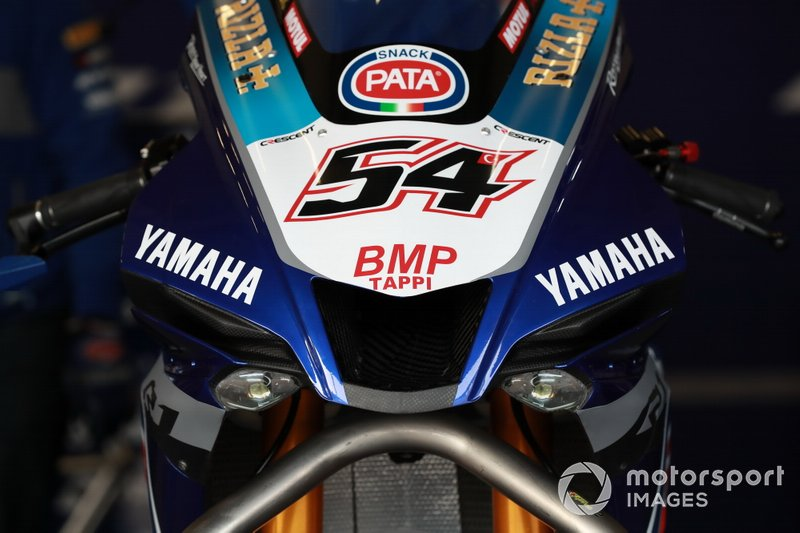 Moto di Michael Van Der Mark, Pata Yamaha WorldSBK Official Team
