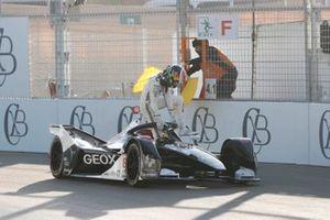 Brendon Hartley, Dragon Racing, Penske EV-4, fermo in pista