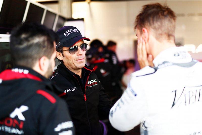 Jay Penske, propietario de GEOX Dragon Racing con Nico Müller, GEOX Dragon