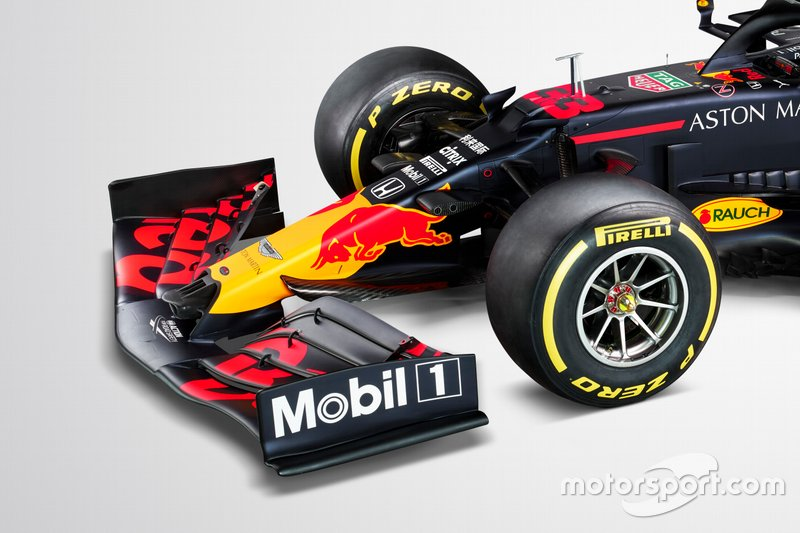 Фрагмент Red Bull Racing RB16