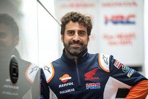 Santi Hernández, Repsol Honda Team track engineer