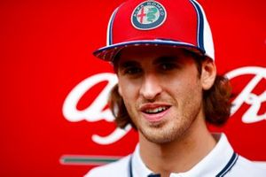Antonio Giovinazzi, Alfa Romeo Racing parla ai media