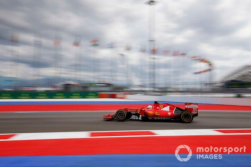 Sebastian Vettel, Ferrari SF-15T, al GP della Malesia del 2015