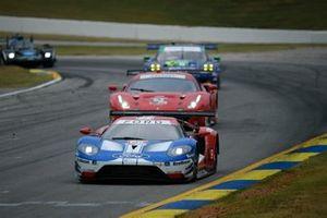 #66 Ford Chip Ganassi Racing Ford GT, GTLM: Joey Hand, Dirk Mueller, Sebastien Bourdais ,#62 Risi Competizione Ferrari 488 GTE, GTLM: James Calado, Alessandro Pier Guidi, Daniel Serra