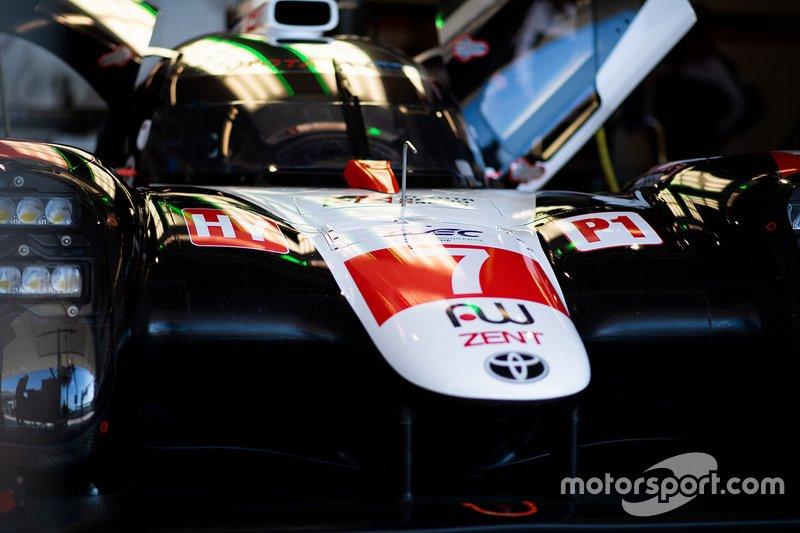 #7 Toyota Gazoo Racing Toyota TS050, dettagli