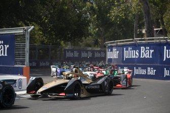 Antonio Felix da Costa, DS Techeetah, DS E-Tense FE20 Daniel Abt, Audi Sport ABT Schaeffler, Audi e-tron FE06