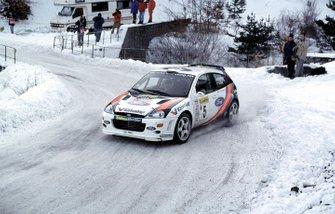 Colin McRae, Ford Focus, al Rally Monte Carlo del 2000