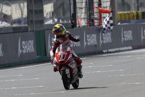 Sergio Garcia, Aspar Team Moto3 chequered flag