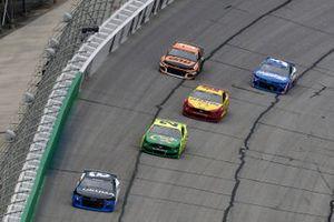 Tyler Reddick, Richard Childress Racing, Chevrolet Camaro Okuma and Matt DiBenedetto, Wood Brothers Racing, Ford Mustang Menards / Quaker State