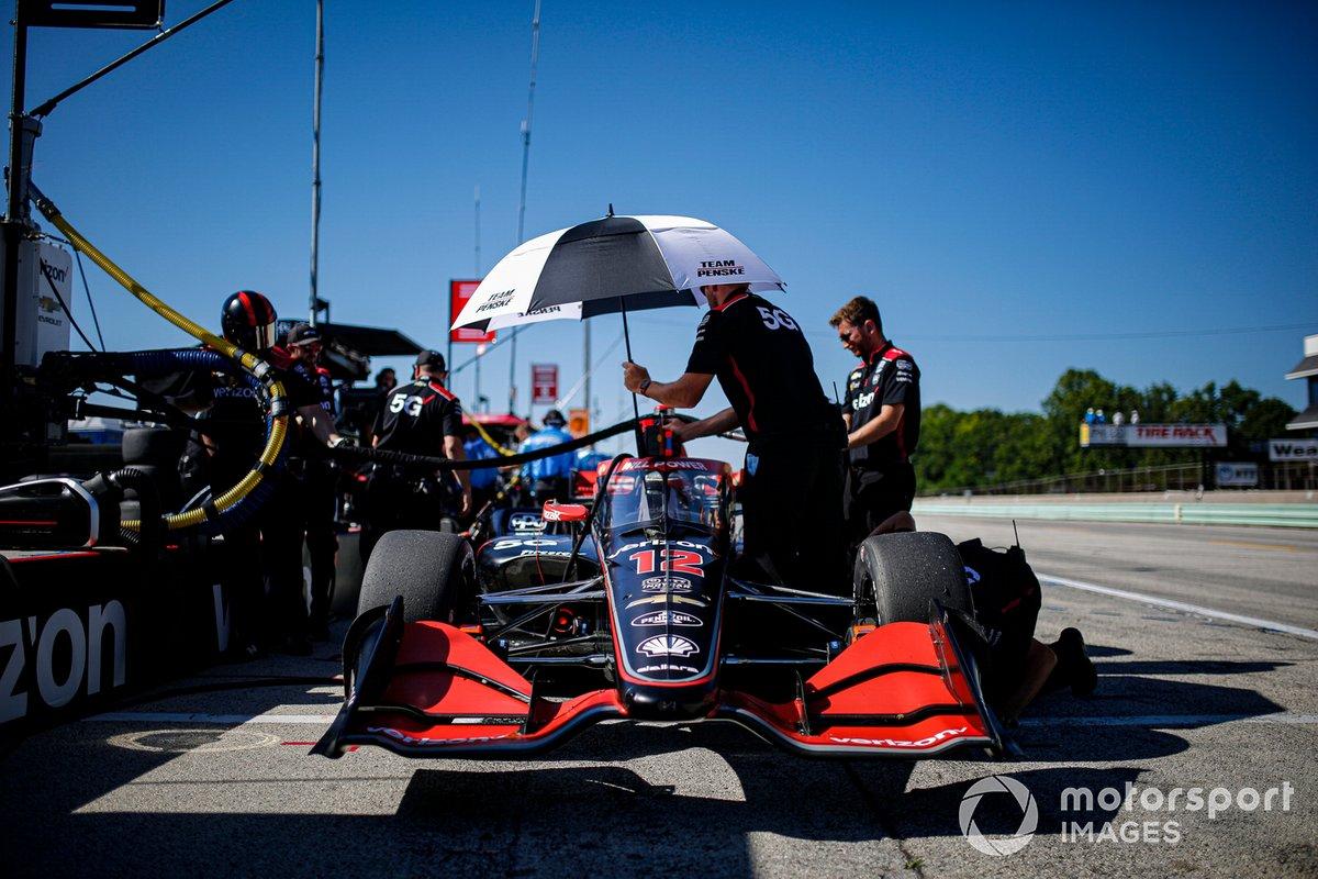 Will Power, Team Penske Chevrolet, miembros del equipo