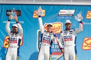 Podio: #96 Turner Motorsport BMW M6 GT3, GTD: Robby Foley, Bill Auberlen, Aidan Read