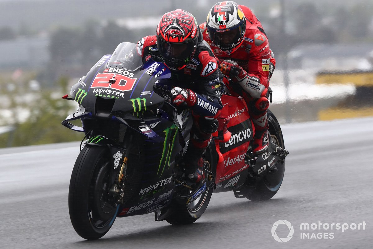 Fabio Quartararo, Yamaha Factory Racing Jack Miller, Ducati Team