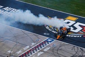 Patricio O'Ward, Arrow McLaren SP Chevrolet, Burnout