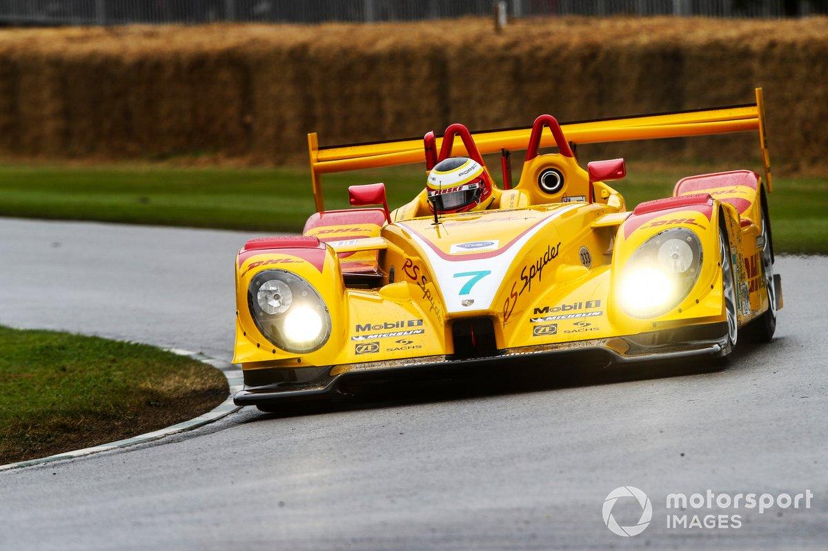 Roger Penske au volant de la Porsche RS Spyder (2005)