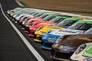 Carros da Porsche Cup Brasil no Velocitta