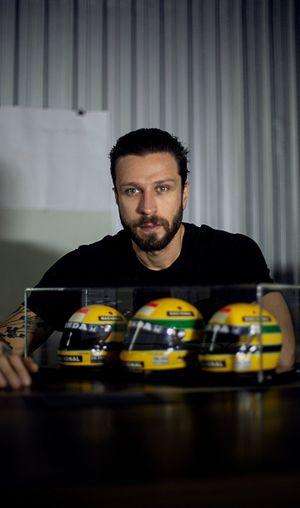 Cainã Gartner, capacetes Senna