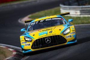 #4 Mercedes-AMG Team HRT Mercedes AMG GT3: Adam Christodoulou, Manuel Metzger