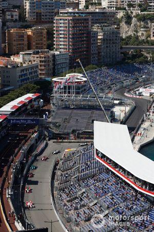 Vista general del circuito de Mónaco