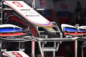 Haas VF-21 nose detail