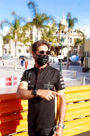 Antonio Felix Da Costa, DS Techeetah, lors du track walk