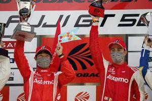 Koudai Tsukakoshi, Bertrand Baguette, #17 Astemo NSX-GT
