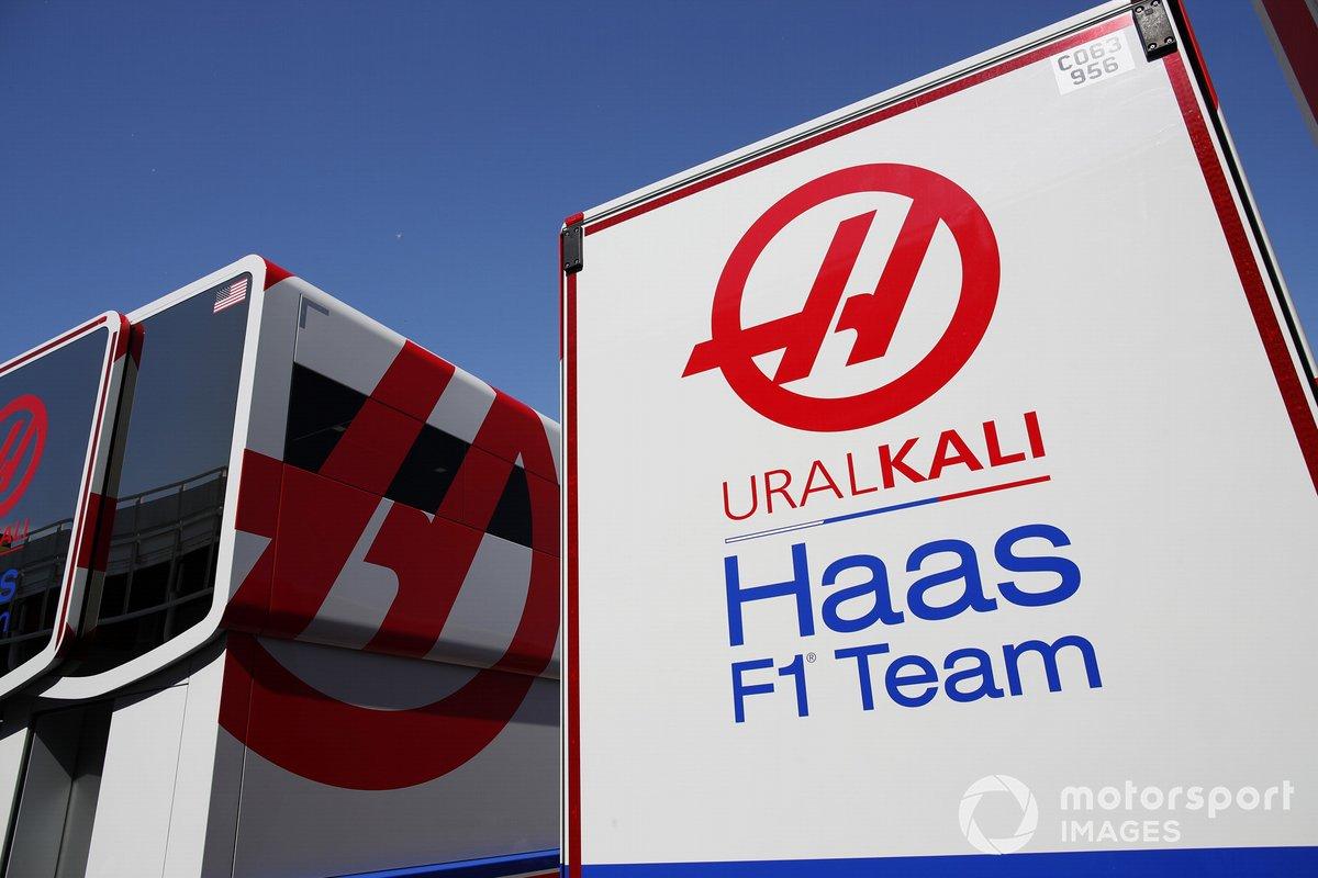 El motorhome de Haas