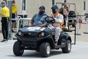 James Hinchcliffe, Andretti Steinbrenner Autosport Honda, mit Brian Barnhart