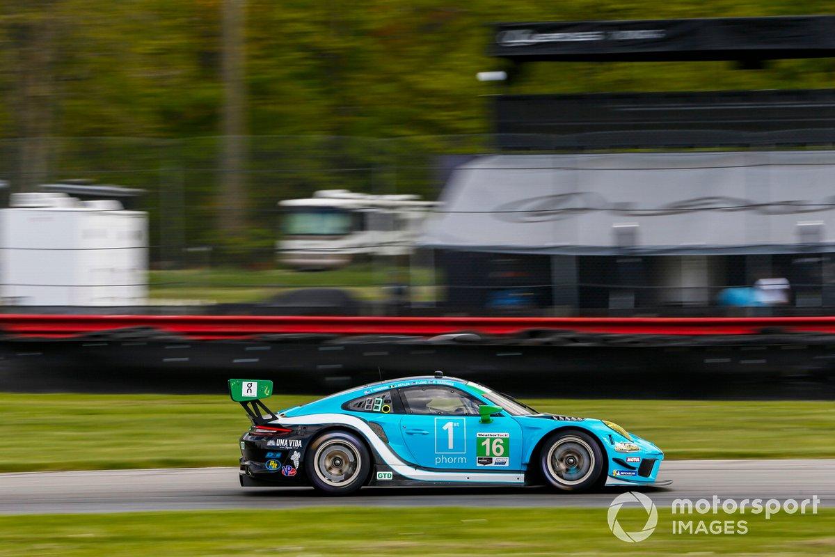 #16: Wright Motorsports Porsche 911 GT3R, GTD: Ryan Hardwick, Patrick Long
