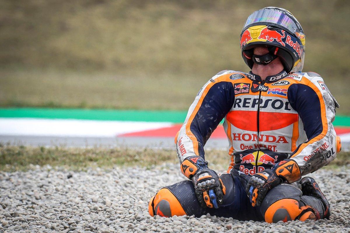 Caída de Pol Espargaró, Repsol Honda Team