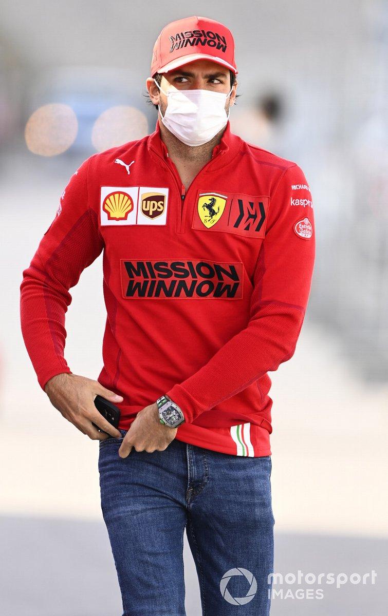 Carlos Sainz Jr., Ferrari en Portimao