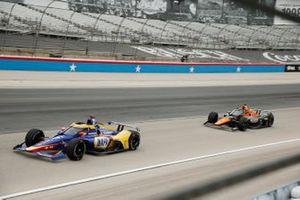 Alexander Rossi, Andretti Autosport Honda, Patricio O'Ward, Arrow McLaren SP Chevrolet