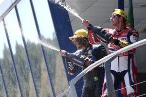 Pdoium: Race winner Fabio di Giannantonio, Federal Oil Gresini Moto2